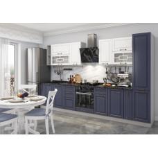 Модульная кухня Гарда 3,4м Джинс/Белый