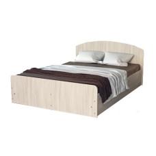 Кровать 2-х спальная с кромкой 1,4х2  мебельная фабрика Volodin