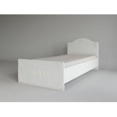 Ki Ki Кровать Белое дерево КРД 900.1