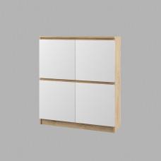 модульная гостиная  Марли шкаф-пенал МШП 1000.1