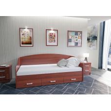 Кровать с ящиками мебельная фабрика Volodin