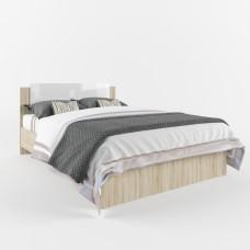 Софи Кровать Дуб сонома/Белый глянец СКР 1400.1