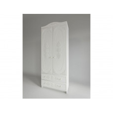 Ki Ki Шкаф с ящиками Белое дерево ШД 900.1