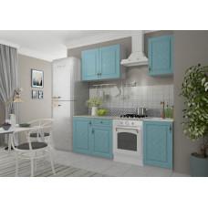 Кухонный гарнитур Гранд 1,5м Зеленый