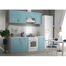 Кухонный гарнитур Гранд 2,1м Зеленый