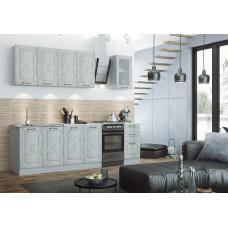 Модульная кухня Капри 2м Камень светлый