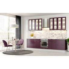 Модульная кухня Квадро 3м Виноград