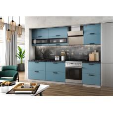 Модульная кухня Ройс 2,2м Лазурь