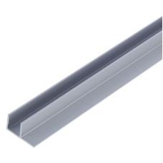 Планка угловая 4 мм F-образная 1020