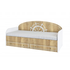 Юнга Кровать с ящиками 2032*930мм ДКД 2000.1