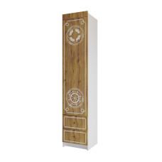 Юнга Шкаф с ящиками 450*2150мм ШД 450.1
